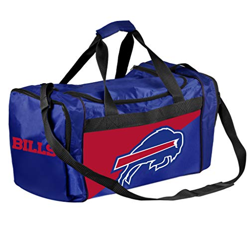 FOCO NFL Buffalo Bills Core Duffel Bag, Team Color, -