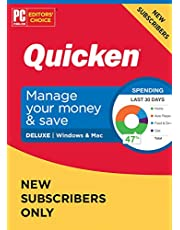 $51 » Quicken Deluxe NEW Subscriber Personal Finance – Manage your money with your First Year Subscription to Quicken (Windows/Mac)