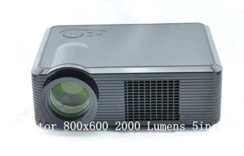 GOWE Proyector LED 800 x 600 2000 Lumens 12,7 cm Panel LCD: Amazon ...