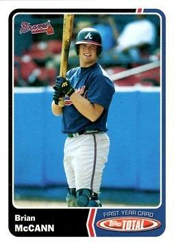 2003 Topps Total Baseball #986 Brian McCann Rookie Card ()