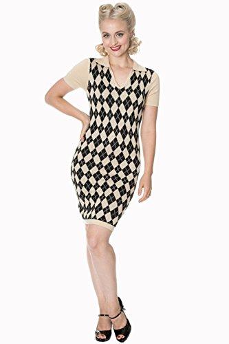 弾薬トラフ開発するBanned Apparel - The High Life Knit Dress L / Black
