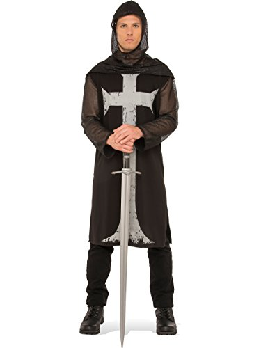Rubie's Costume Co. Men's Gothic Knight Costume, As Shown, ()