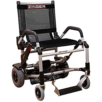 Amazon com: Zinger Chair, Ultra-Portable Motorized Mobility