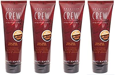 American Crew Firm Hold Styling Gel for Men, 8.4 Ounce
