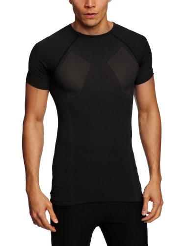 Alpinestars MTB Tech Top Short Sleeve Underwear, Small/Medium, Black