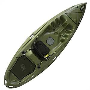Emotion 90259 Renegade XT Fishing Kayak, Forest Green