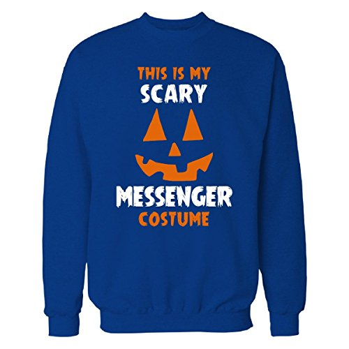 This Is My Scary Messenger Costume Halloween Gift - Sweatshirt Royal 3XL