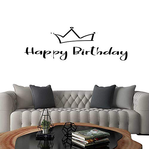 - UHOO Frameless Paintings 3 Pieces Painting CollectionHappy Birthday Handwritten Inscription for Greeting Card Invitation Poster Vector. Hotel Office Decor Gift 16