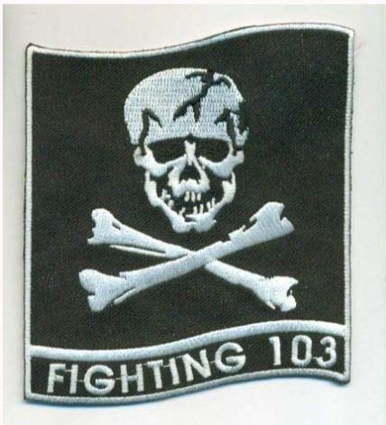 (VF-103 Jolly Rogers Squadron Patch)