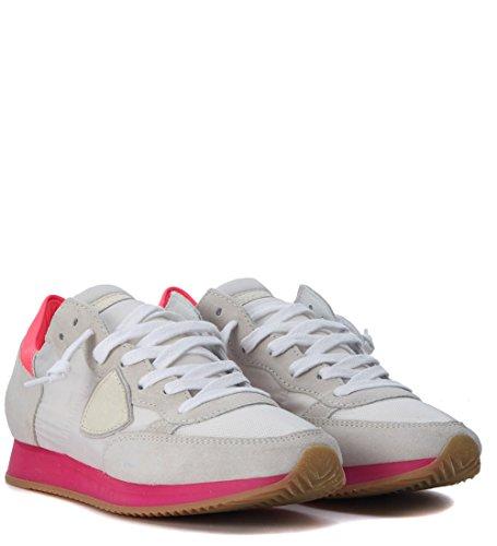 Philippe Blanca Fucsia Sneaker Blanco y Tropez Model 8HqHtxXd