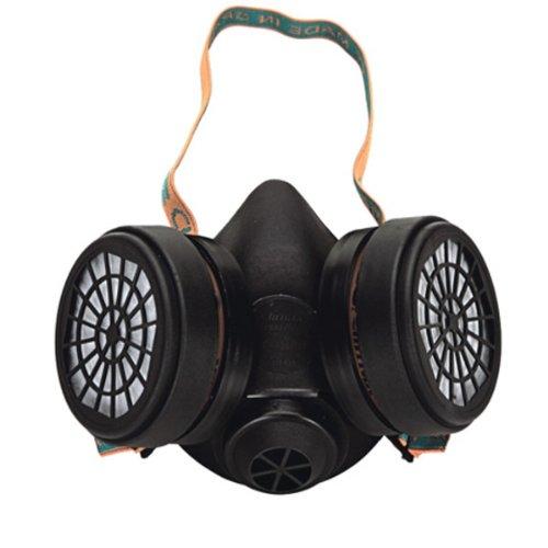 Atemschutz Halbmaske mit Filtern A1B1E1K1P3, Gasmaske Staubmaske Atemschutzmaske 755 A1B1E1K1P3