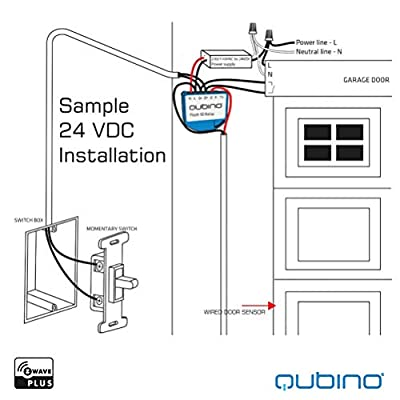 Qubino Z-Wave Plus Universal Relay with Dry Contact Switch ZMNHND3