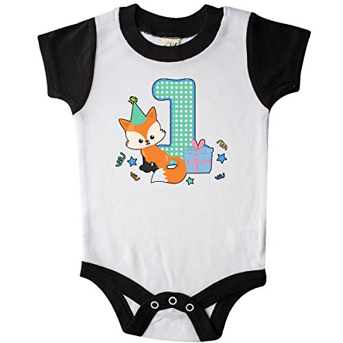 Fox Infant Creeper (Inktastic - Im 1 Years Old With Fox Infant Creeper 24 Months White and Black)