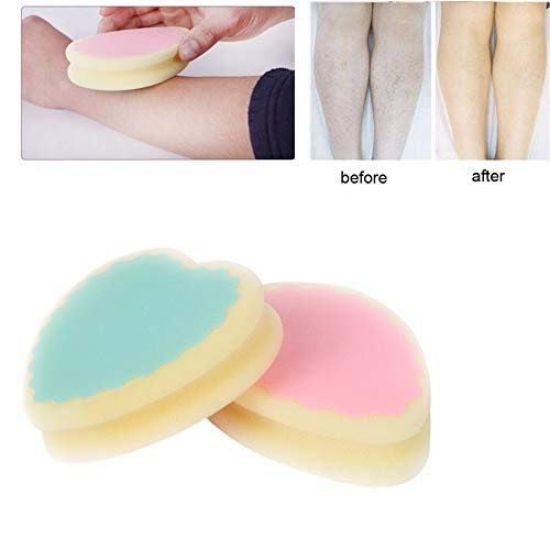 Elevin(TM) Magic Painless Hair Removal Depilation Sponge Pad Remove Hair Remover Effective