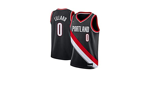 Jerseys del baloncesto Portland Trail Blazers Hombres Damian ...