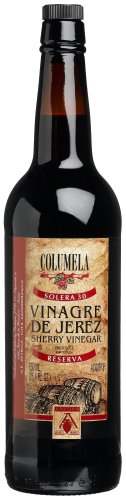 Columela Vinagre de Jerez, Sherry Vinegar, 25.4-Ounce Glass Bottles (Pack of 2)