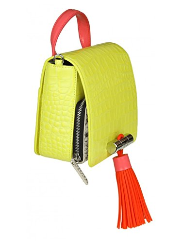 Leder Gelb Damen F852SA002B1239 Handtaschen Kenzo x8f4ZwRqC