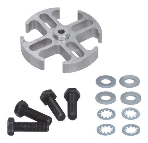 "Flex-a-lite 14544 Mill Finish 1/2"" Fan Spacer Kit"