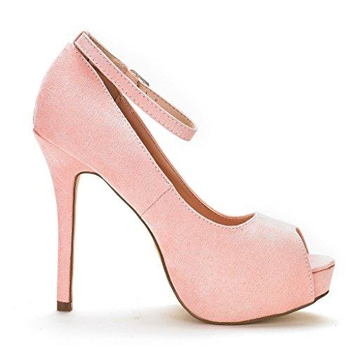 Swan Dress 10 Pump Heel Plaform Shoes DREAM Women's Pink High PAIRS PqwqZ0E