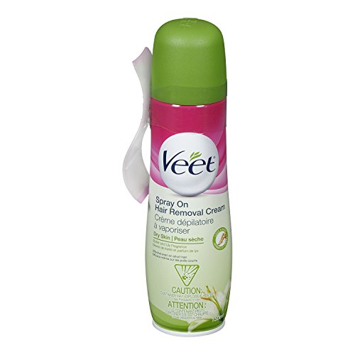 VEET Spray On Hair Removal Cream - Dry Skin: 5.1 OZ