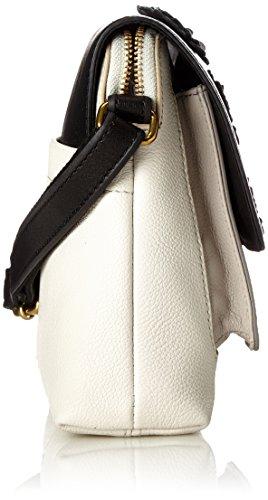 Fossil 91 Damentasche bianco Piccolo Kinley Cm Mujer bxht Nero Crossbody 6 78x21 white 35x17 Fossili Small Blanco black Bandolera Bolsos g4nr4Wx