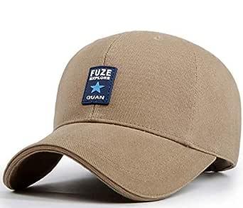 Khaki Baseball & Snapback Hat For Unisex