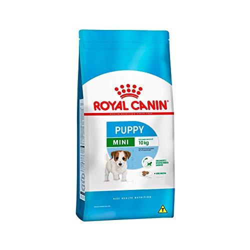 Ração Royal Canin Mini Junior Cães Filhotes 2,5Kg Royal Canin para Todas Todos os tamanhos de raça Filhotes - Sabor Outro