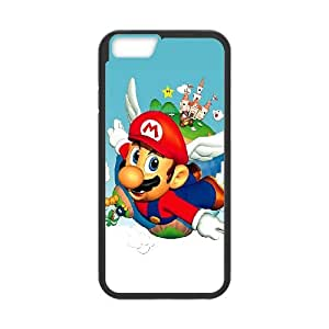 Super Mario Bros iPhone 6 4.7 Inch Cell Phone Case Black NRI5116304