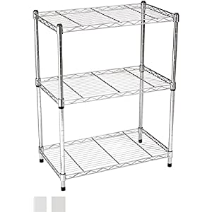 AmazonBasics 5-Shelf Shelving Unit – Black 41lo0Dui7sL
