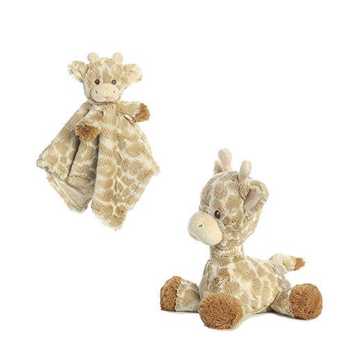 """Bundle of 2 Aurora Loppy Giraffe Lovie and 11.5"""" Plush Music"""