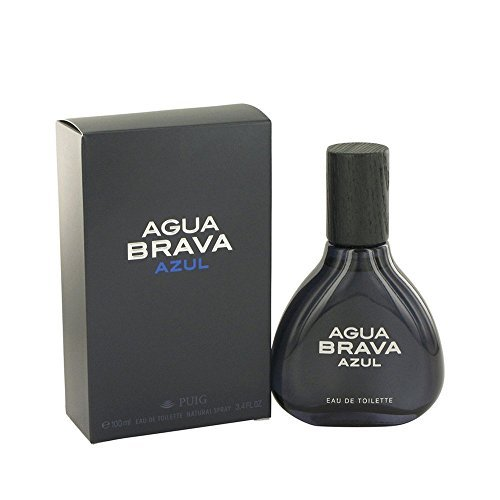 Antonio Puig Agua Brava Azul Eau De Toilette Spray 3.4 oz for Men