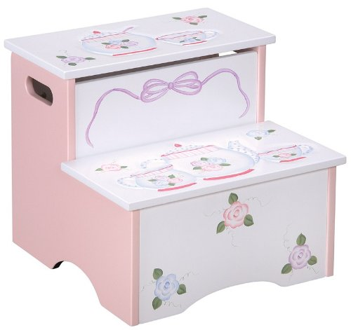 Guidecraft Tea Party Storage Step-Up by Guidecraft
