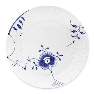 Fluted Mega Dinner Plate (Williams-Sonoma Home Royal Copenhagen Blue Fluted Mega Dinner Plate 1)