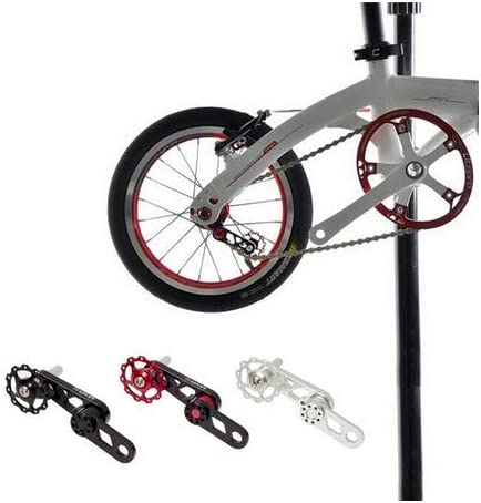 aluminium alloy cycling single speed chain tensioner bicycle chain prevent UL!Y