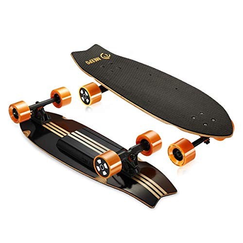 MEEPO Board Electric Skateboard Campus 2.0 13 Mile Range 18 Mph Speed , Wood