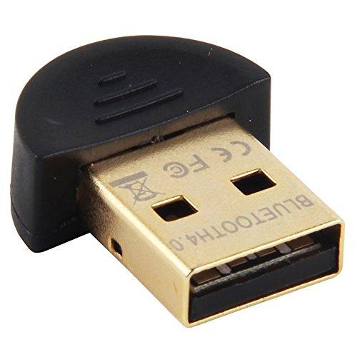 SODIAL(R) Adaptador USB Bluetooth 4.0 RSE Dongle para Window 98 / XP / Vista / Win 7, (Bluetooth Printer Pda)