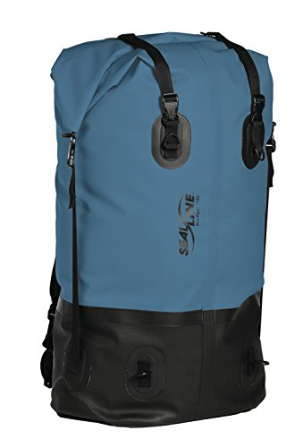 SealLine Pro Portage Pack 115-Liter Waterproof Expedition Backpack, Blue