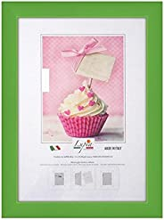 Lupia Rainbow Green Wooden Wall Photo Frame 24 x 30 cm