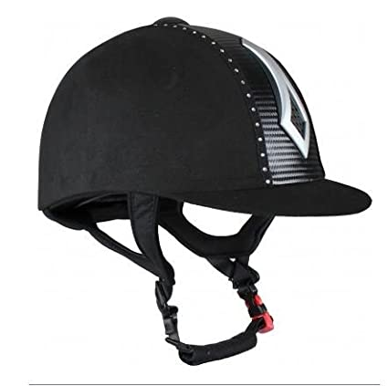 Seguridad casco de equitación con cristal