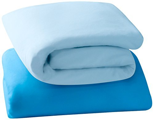 Clevamama Jersey Cotton Fitted Sheets (Cot, 60 x 120 cm, ...