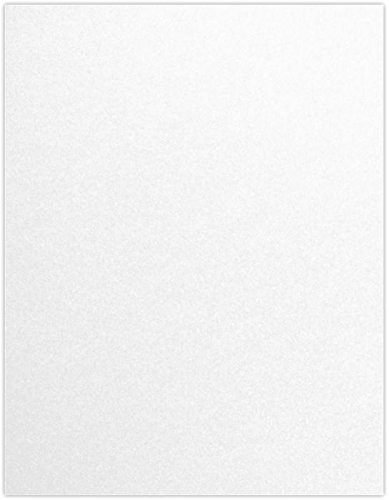 8 1/2 x 11 Cardstock - Crystal Metallic (50 Qty) | Perfect for Printing, Copying, Crafting, various Business needs and so much more! | 81211-C-30-50 (Shimmer Card)