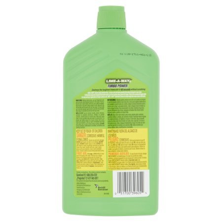 Lime-A-Way Lime, Calcium & Rust Cleaner, 28 fl oz Bottle (6) by Lime-A-Way (Image #2)