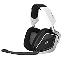 CORSAIR VOID PRO RGB Wireless Gaming Headset with DOLBY HEADPHONE 7.1 Surround Sound for PC - White