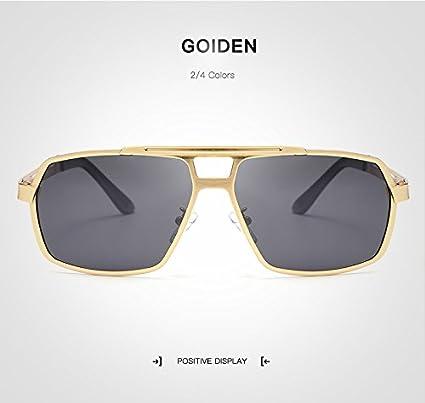 Weichunya Gafas polarizadas Hombres Tan Fresco Conducción Casual Moto GP con Gafas de Sol Gunes Gozlogo