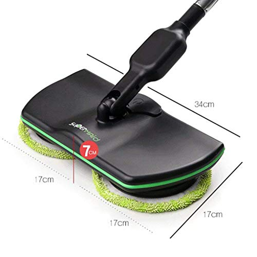 ADAHX Electric Spinning Mop,Cordless 360 Degree Mopping Machine Rechargeable, Wireless Electric Rotary Cleaninghand-held, Powered Floor Cleaner Scrubber Polisher Mop,Black by ADAHX (Image #6)