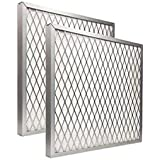 23-1/2 x 23-1/2 x 1 Lifetime Air Filter - Electrostatic, Permanent, Washable - For Furnace or AC - Never Buy Another Filter