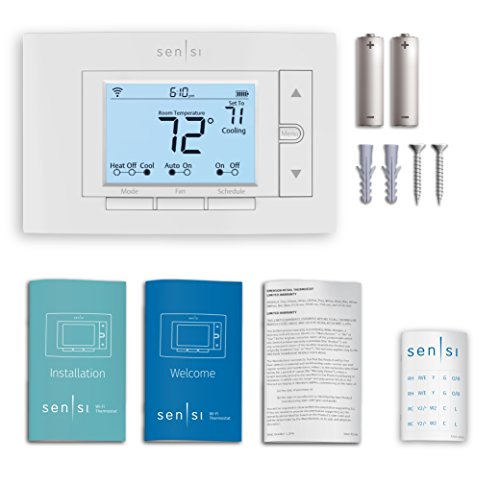 Emerson Sensi Wi-Fi Thermostat for Smart Home, 1F87U-42WF, Pro Version, Works with Alexa by Emerson Thermostats (Image #10)