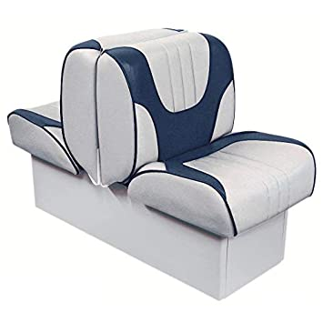 Admirable Overtons Deluxe Back To Back Lounge Boat Seat With 8 Base Creativecarmelina Interior Chair Design Creativecarmelinacom