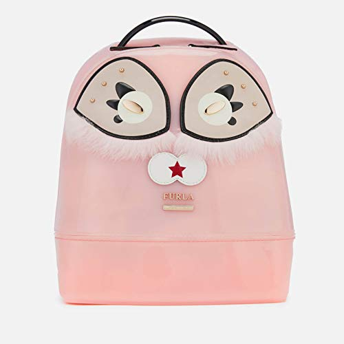 Furla Candy Ginger Ladies Small Rosa Chiaro PVC Backpack 978647 -