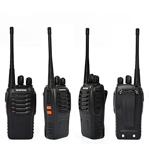 6 packs of Baofeng 888s Two Way Radio UHF 400-470MHZ Walkie Talkie Portable Ham Radio with 1 pcs 6-way Multi Unit Battery Charger for Baofeng- 888S BF-777S BF-666S Retevis H-777 by TWAYRDIO (Image #3)